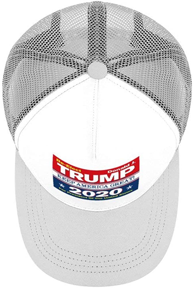 Trump 2020 Keep America Great Hats Outdoor Sun Hat Breathable Dad Hats Relaxed Strapback Unisex Caps