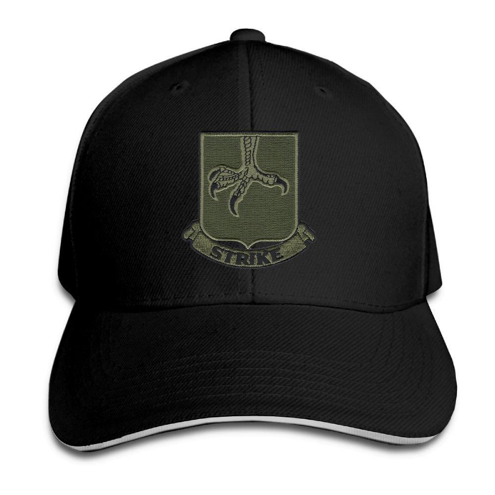 BOOLOOHOO US Army 502nd Infantry Strike Embroidery Classic Adjustable Plain Baseball Cap Hat Men Women