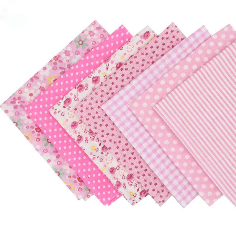de Tilda 25 cm x 25 cm 56 piezas Tela de algod/ón con estampado floral para retazos costura de pa/ñuelos para patchwork
