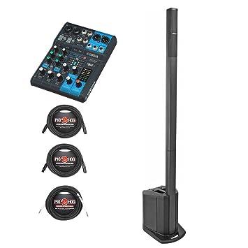 Bose L1 Compact portátil línea sistema de Array w/Yamaha MG06 X batidora de estéreo y Cables - Bundle: Amazon.es: Instrumentos musicales