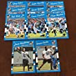 2016 Donruss Carolina Panthers Team Set w RC 11 Cards Cam Newton