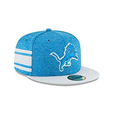 Amazon.com  New Era Detroit Lions NFL Sideline 18 Home On Field Cap 59fifty  Fitted OTC  Clothing 801000d75637