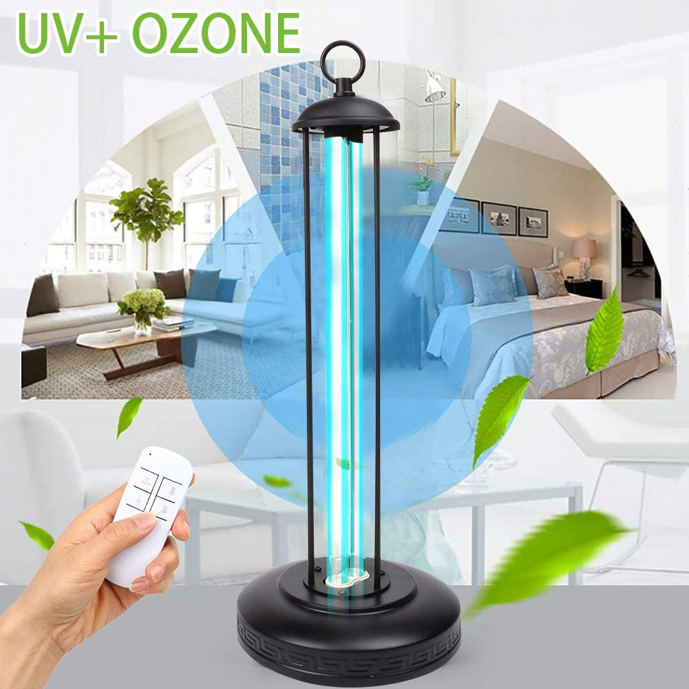 UHAPEER Lámpara De Esterilización UV Ozono Germicida Ultravioleta ...