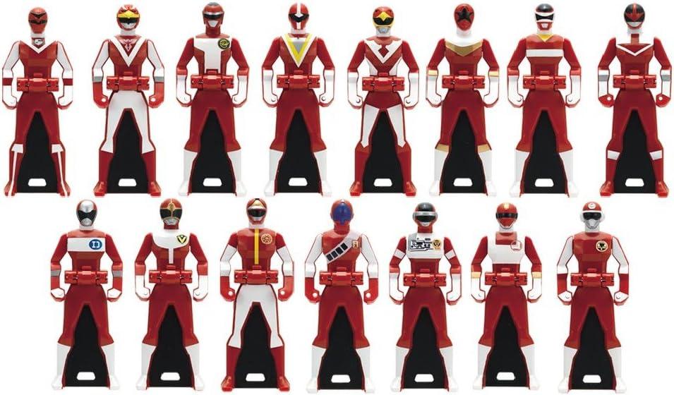 Samurai Sentai Shinkenger DX Ranger Key Set Japan Power Rangers Bandai New Seal