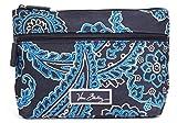 Vera Bradley Lighten Up Travel Cosmetic in Blue Bandana