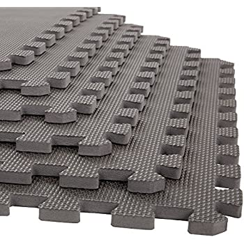 Foam Mat Floor Tiles, Interlocking EVA Foam Padding By Stalwart U2013 Soft  Flooring For Exercising, Yoga, Camping, Kids, Babies, Playroom U2013 6 Pack