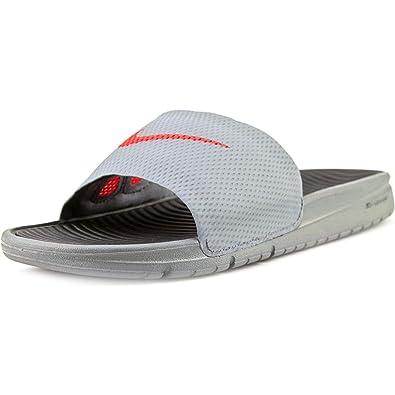 Nike Men's Benassi Solarsoft Slide Sneakers multicolour Size: 13.5 UK