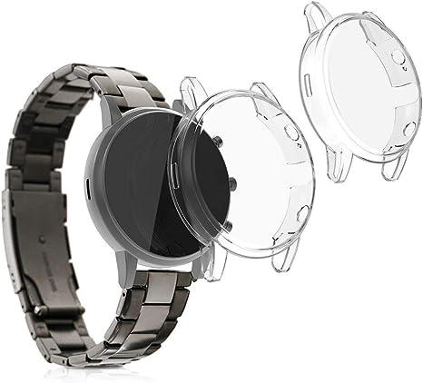 Schutzhülle für Fossil FTW 4024 Fitnesstracker klar Case Fitnessuhr Smartwatch