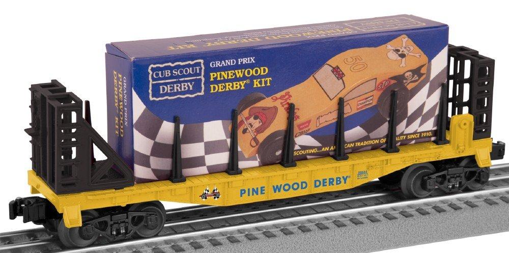 O-27 Flat w/Pinewood Derby Kit, Boy Scouts