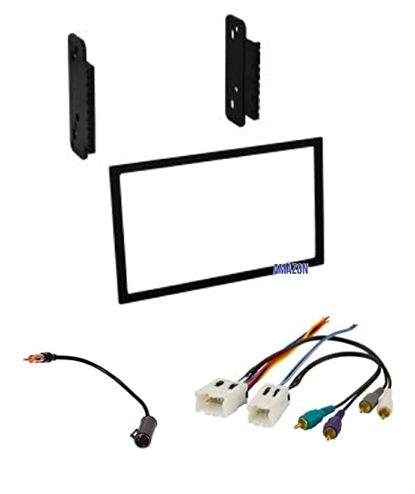 Amazon.com: Stereo Dash Kit, Wire Harness, and Antenna Adapter for on catera stereo wiring, bosch wiring, cooper wiring, fender wiring, 2006 escalade audio wiring,