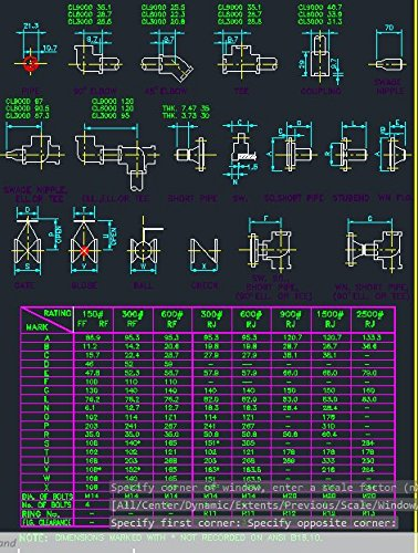 DWG CAD files of Piping/plumbing components