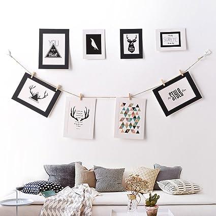 Amazon.com: Janicestyle Ten Paper Picture Frames, DIY Cardboard ...