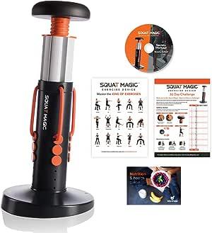 Allstar Innovations Squat Magic Home Gym Workout   Sculpt Abs, Butt, Core, Legs, Thighs & More!   As Seen on TV