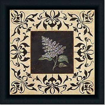 Amazoncom Purple Lilac French Country Decor Wall Art Print