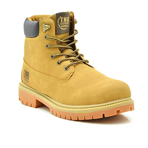 Tino Gonzalez Botas Hombre Fernando Hombre Amarillo 43  Amazon.es  Zapatos  y complementos 01d99e9c0f2