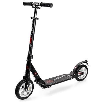 Scooter plegable ruedas grandes 200 mm Neumatico de Aire ...
