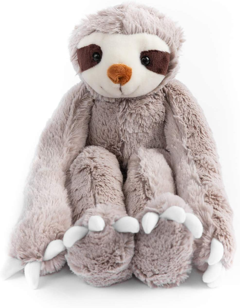 with Velcro Hands Adult, Kids Organic Material,Safe 20.5 Armspan Stuffed Animal Sloth Toy Ultra Soft Children 15 Tall Perfect for Baby