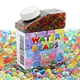 Calans Water Beads, 50000 Pcs Water Gel Beads Pearls for Water Beads Gun Vase Filler, Wedding Centerpiece, Home Decoration, Plants, Toys.