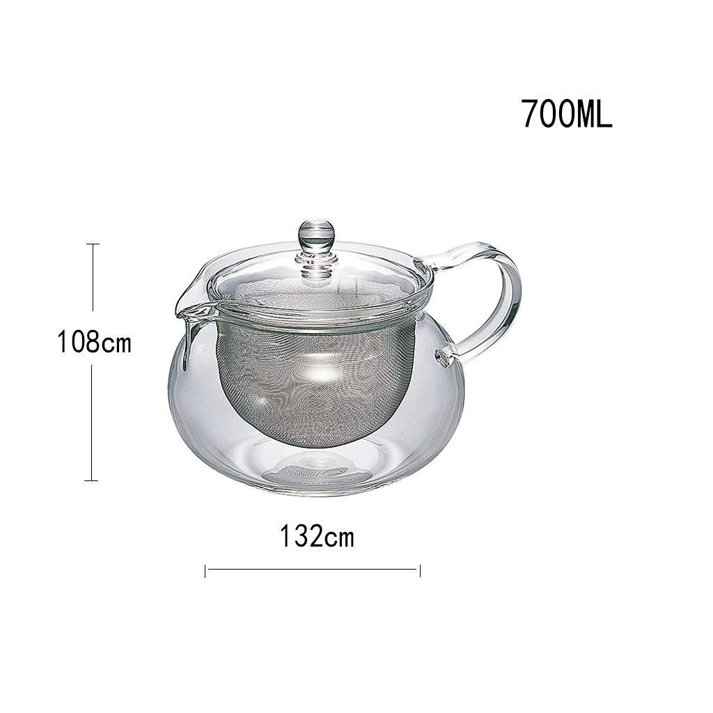 Kinue Exquisite Tea Cups Saucers Set Set Coffee Cup Teapot Set,Cold Kettle,Teacup,Creative, Mug, Constant Temperature, Contains No Harmful Substances Such As Lead and is Chemically Stable by Kinue (Image #2)