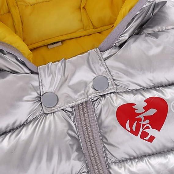 Amlaiworld Chaleco para beb/és Ropa de Invierno Ni/ño Beb/é Ni/ña Sin Mangas A Prueba de Viento Abrigo con Capucha Chaqueta de Abrigo Chaleco