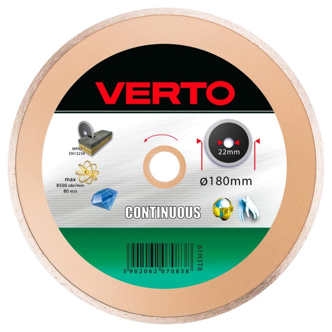 Disco de diamante 180mm continuo VERTO 61H3T8