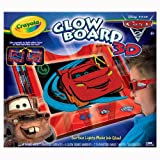 Crayola Color Explosion Cars 2 Glow Board 3D