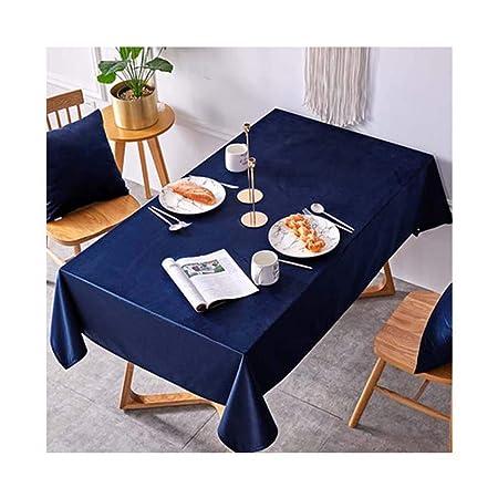 GXPBCJ-tablecloth Mantel de Terciopelo sólido para Mesa de ...