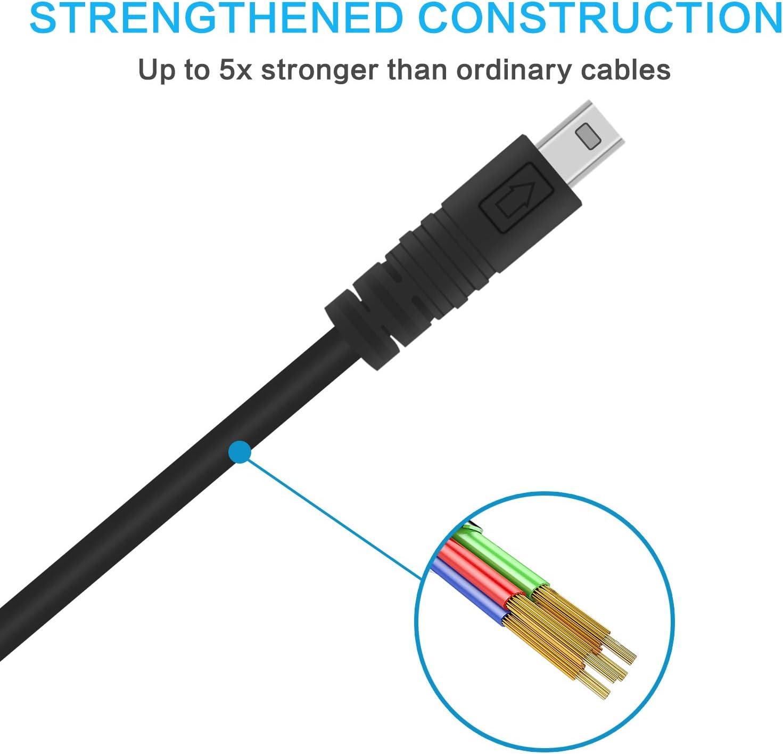 USB Interface Photo UC-E16 Data Transfer Cable Fit Nikon Digital SLR DSLR D3300 D750 D5300 D7200 D3200 Coolpix L340 L32 A10