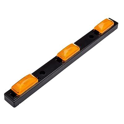 Lumitronics RV Sealed 3 Piece Identification Light Bar (Amber): Automotive