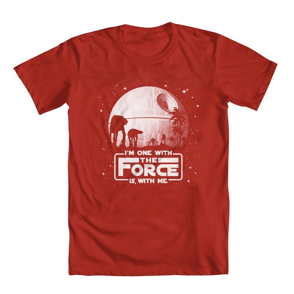 Rogue One Inspi One With The Force Girls T Shirt 6331
