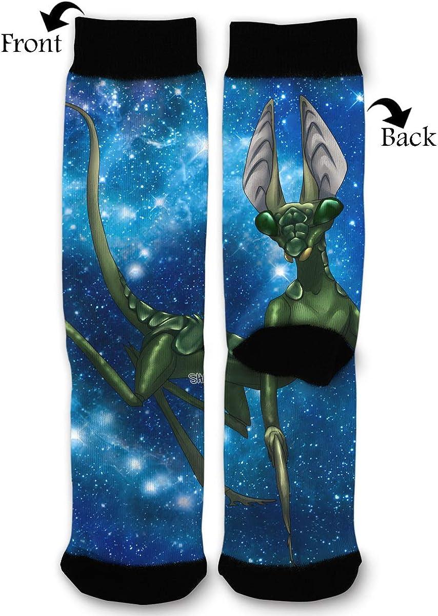 YISHOW Mantis Funny Crew Socks