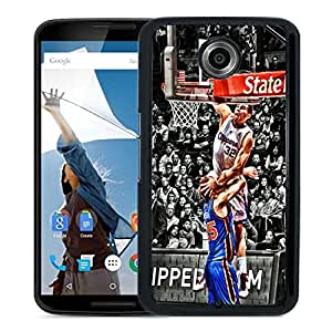 blake griffin dunk Black Hard Plastic Google Nexus 6 Phone Cover Case