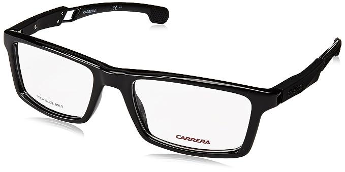 Amazon.com: Carrera 4406/V Eyeglass Frames CA4406-0807-5318 - Black ...