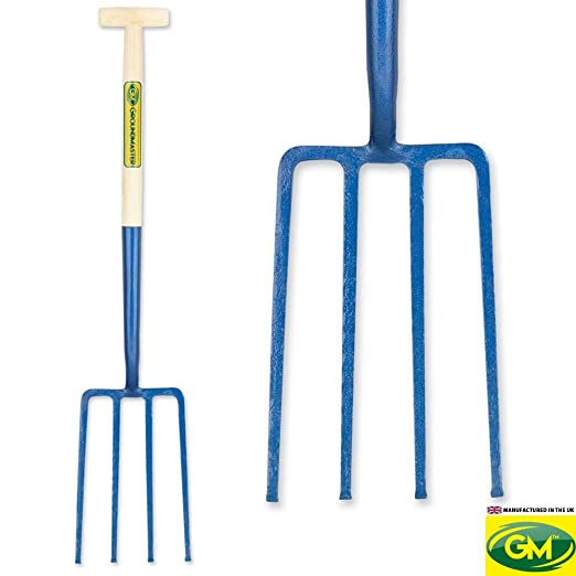 "GroundMaster Solid Socket Round Mouth Shovel 28/"" Durable Ash Shaft Garden Tool"