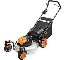 Amazon.com: Worx wg719 13 Amp Caster ruedas – Cortacésped ...