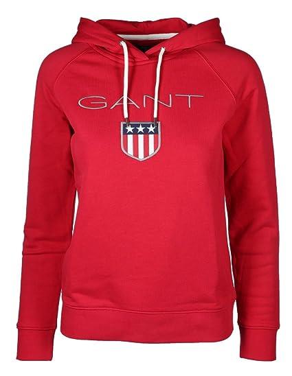 Gant 627-50-90144-Chaqueta Deportiva Mujer Rojo Medium