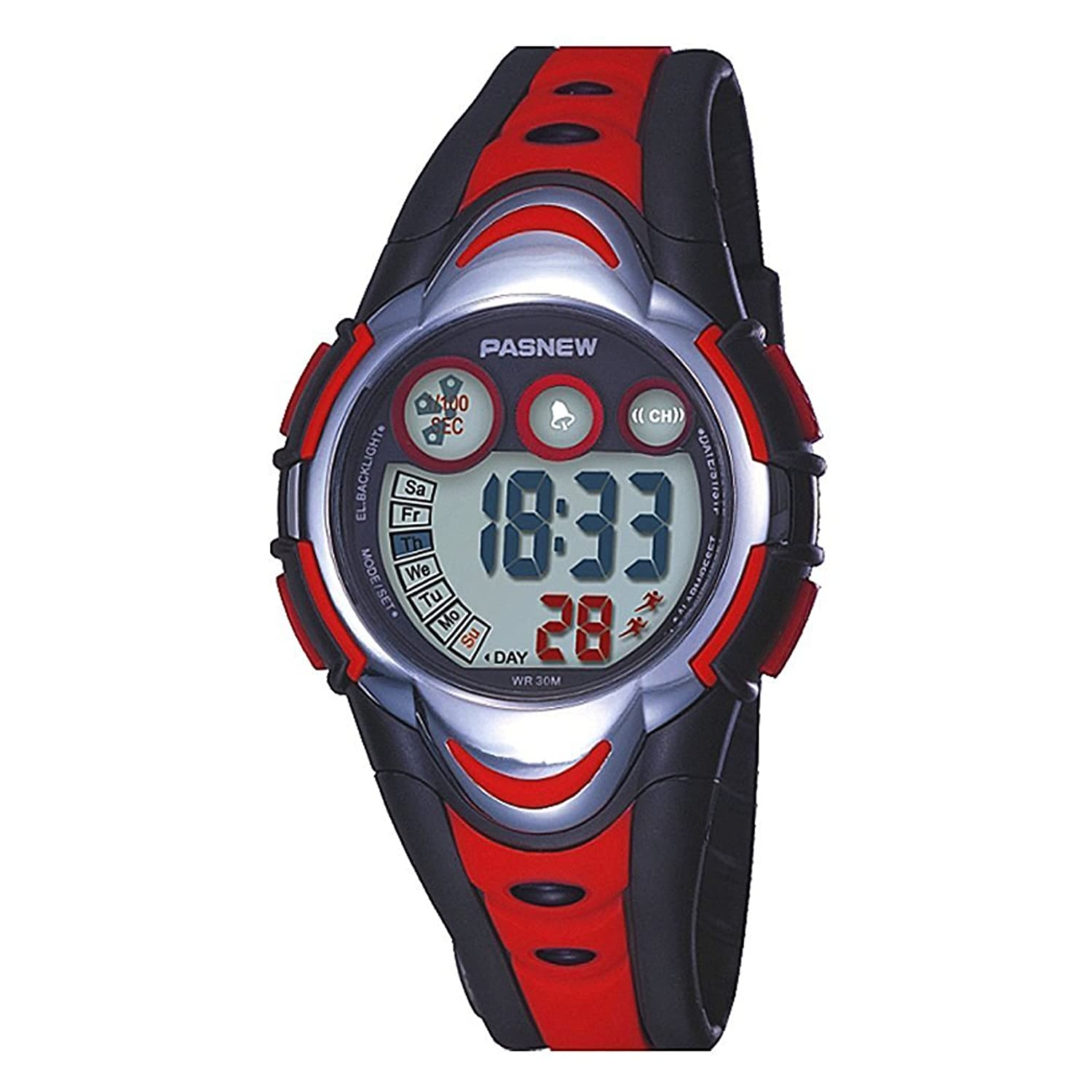 Amazon Kids Digital Watch LED Sport Waterproof Electronic