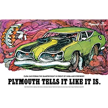 Amazoncom Classic And Muscle Car Ads And Car Art Plymouth - Classic car ads