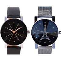 BID Analogue Black Dial Belt Hybrid Women's Watch Combo - Pack of 2 Latest Fast Selling Combo 2019