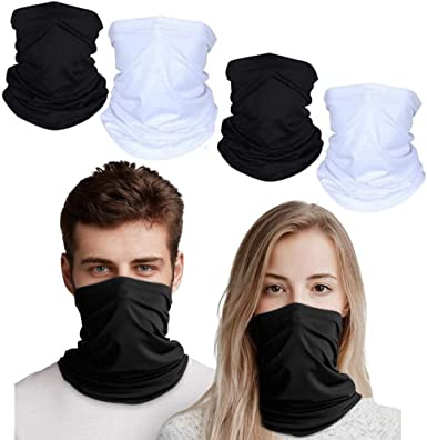 Summer Protection from Dust//Wind//UV Sun Sports Face Scarf Cover for Fishing Hiking Running Cycling 2-Pack Neck Gaiter Balaclava Bandana Headwear Breathable Cooling Washable Reusable Sunblock