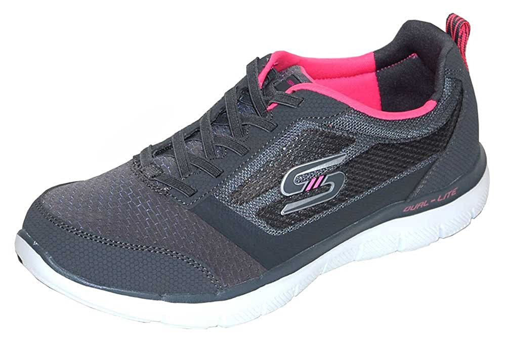 Amazon.com | Skechers Women Flex Appeal 2.0 Air-Cooled ...