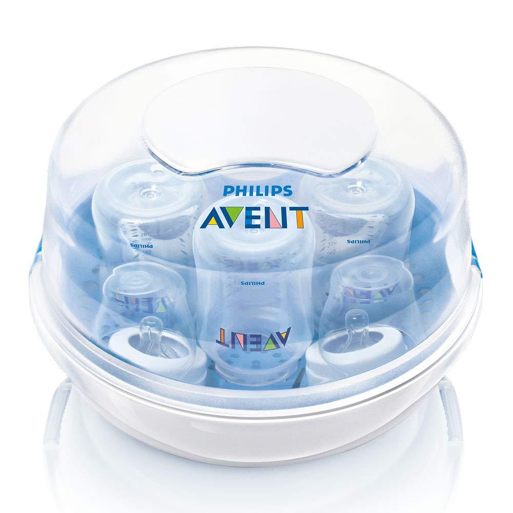Philips AVENT SCF282/02 - Juego básico de esterilizador para microondas con accesorios