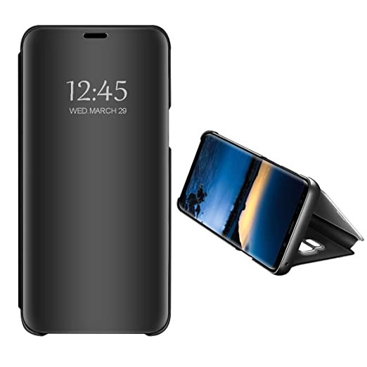 cheaper 733ab 1678f iPhone 8 Plus/7 Plus Slim Multi-Function Mirror Case S-View Stand flip  Protection Cover
