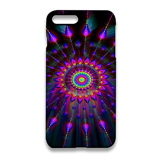 san francisco a66b1 d4b86 Amazon.com: Tie Dye iPhone 7 Plus Case, iPhone 8 Plus Case, Full ...