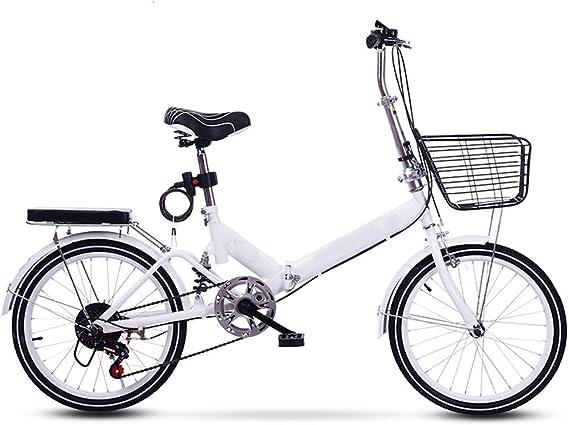 XYSQ Bicicleta Plegable For Adultos Hombres Y Mujeres, De Peso ...