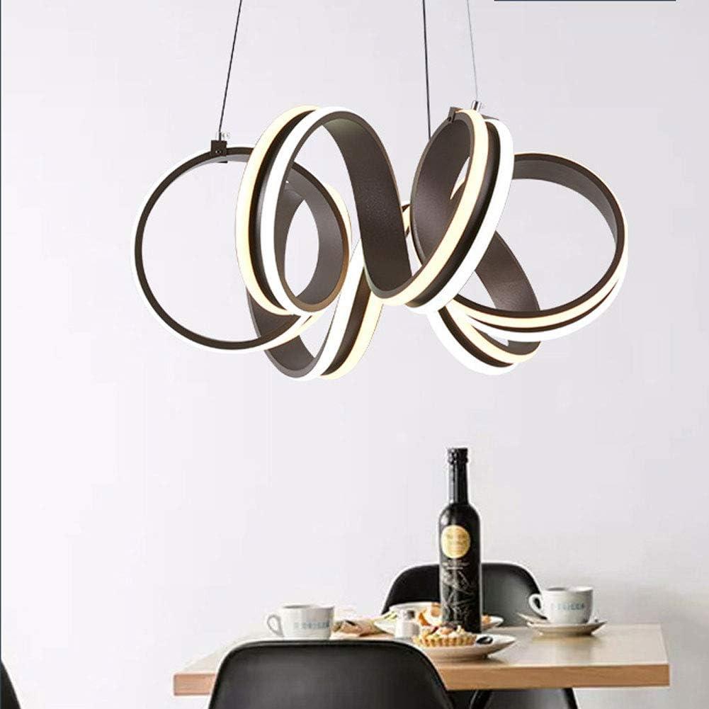 AIDSON Lámparas De Araña En Forma De Espiral,Anillo De