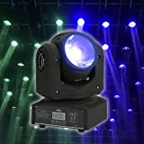 Tomshine 100W LED RGBW Moving Head Lamp Stage Beam Light DMX512 Master-slave Sound for DJ Show Bar Club Disco Party Effect Lighting