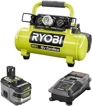 Ryobi 18-Volt ONE Cordless 1 Gal Portable Air Compressor Tool Only