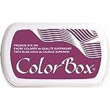 ColorBox Premium Dye Inkpad, Burgundy