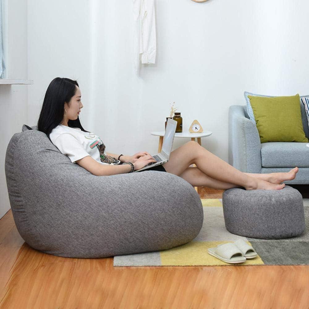 Gifftiy Zitzak voor bank, Haricot, stoel, ligbank, zitbank, lounge, meubels zonder vulling, zitzak, bank, bed, bladeren, bank, Tatami-D C Een